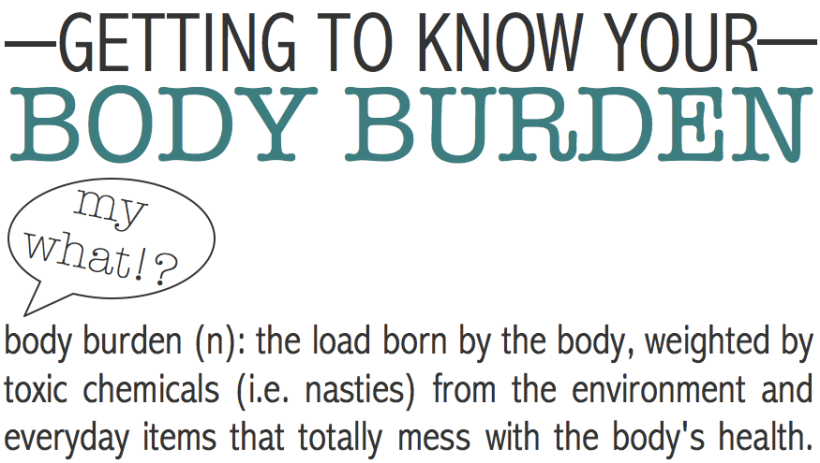 body burden In the month leading up to a baby's birth, the umbilical cord pulses with the equivalent of at least 300 quarts of blood each day, pumped back and forth from the nutrient- and oxygen-rich.