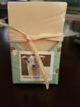 Sassy Goat soaps