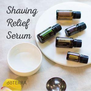 razor relief serum