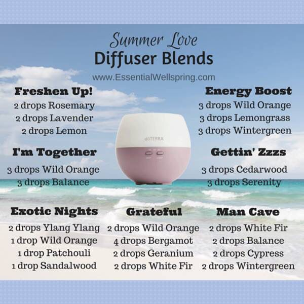 diffuser blends for summer