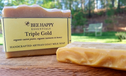 triple gold soap pic