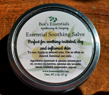 Essential Salve in tin